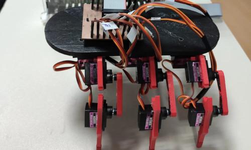 The NeuroPod walking robot